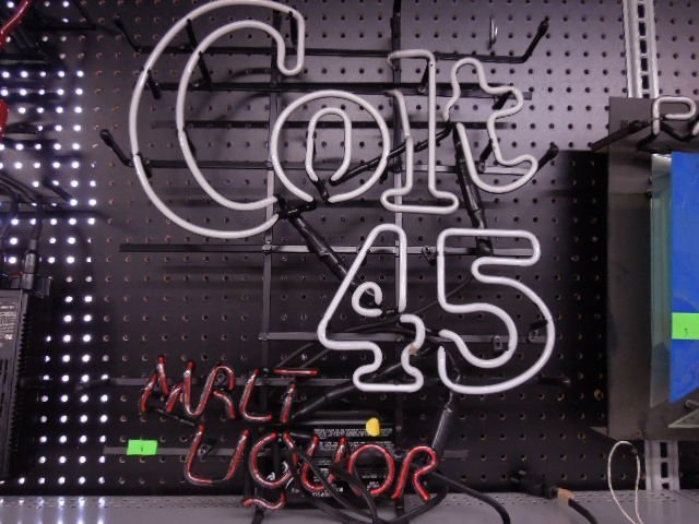 Colt 45 Malt Liquor Neon Sign