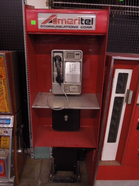 Ameritel Communications Phone Booth