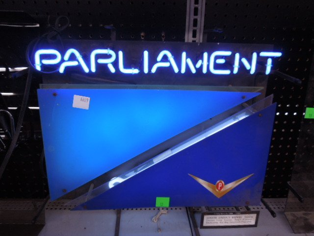 Parliament Neon Sign