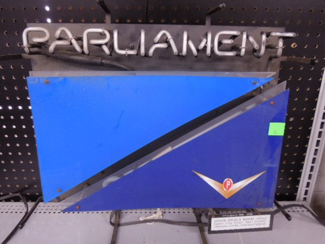 Parliament Cigarettes Neon Sign