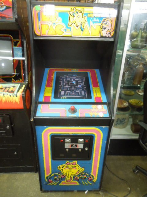 1981 Mx. Pac-Man Arcade Machine