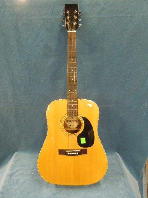 hyostar 6 string acoustic guitar. Black Bedroom Furniture Sets. Home Design Ideas
