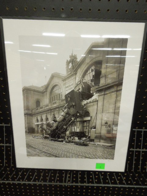 "Framed Train Wreck photo ""Accident"""
