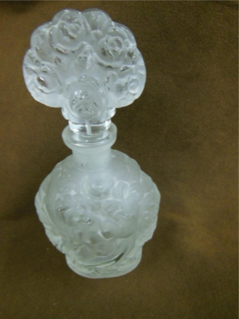 Lalique Perfume Bottle - 2