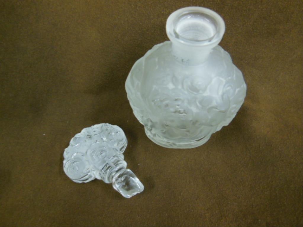 Lalique Perfume Bottle - 3
