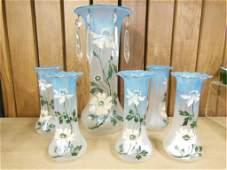 Set of 6 Epergne Vases