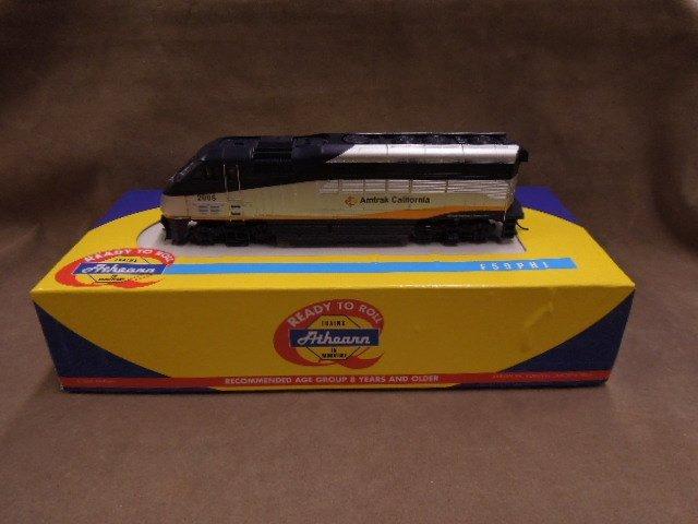 Athearn HO Scale Amtrak California Locomotive