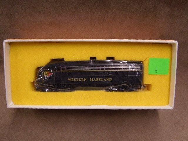 Oriental Limited HO Scale Western MD Locomotive