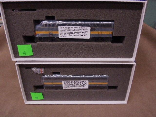 Athearn HO Scale NY, ON, Western F3 Locomotive Set