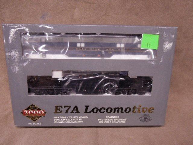 Walthers Proto HO Scale B&O Locomotive