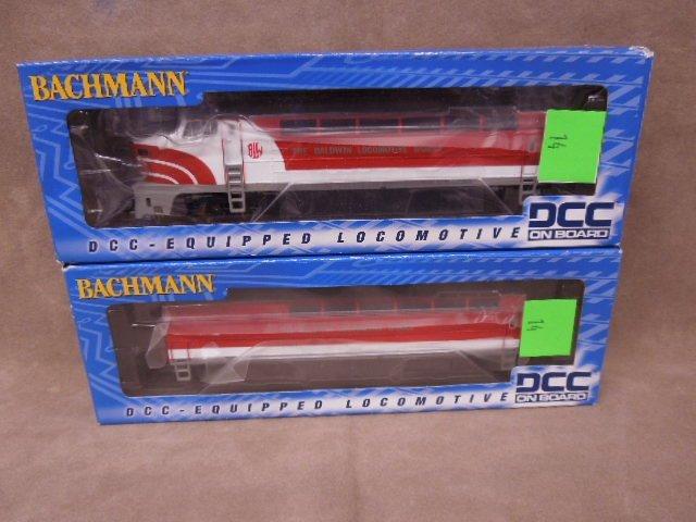 Bachman DCC HO Locomotive & Tender