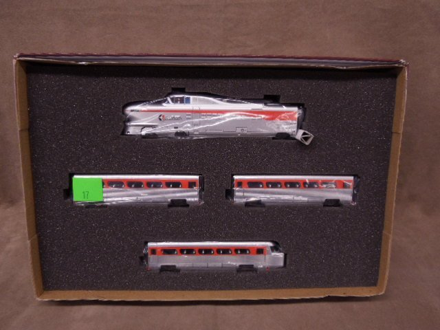 Con-Cor HO Scale Aerotrain Set