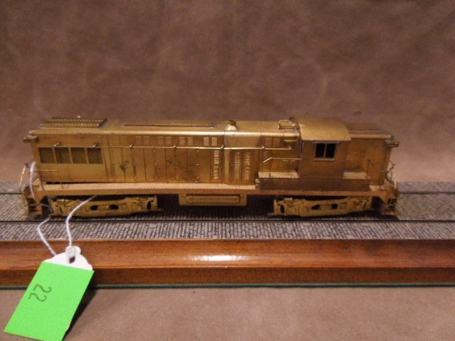 Hallmark Models HO Scale Locomotive