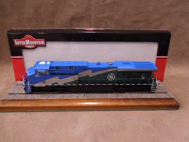 HO Scale GE Locomotive