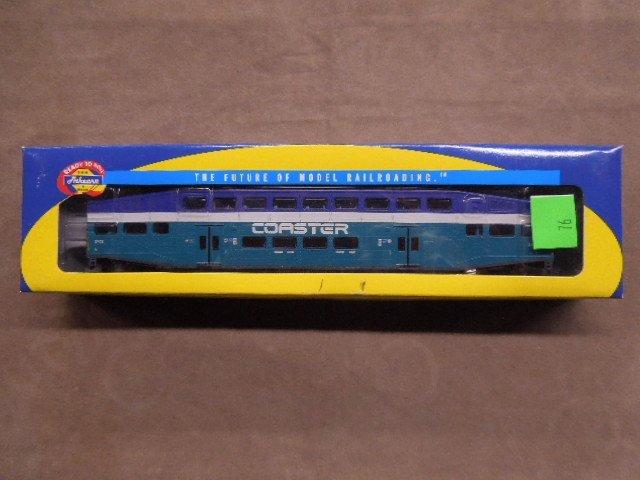 HO Scale Bombadier Coach Car