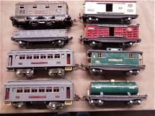 Vintage OScale Lionel Pressed Steel Train Set