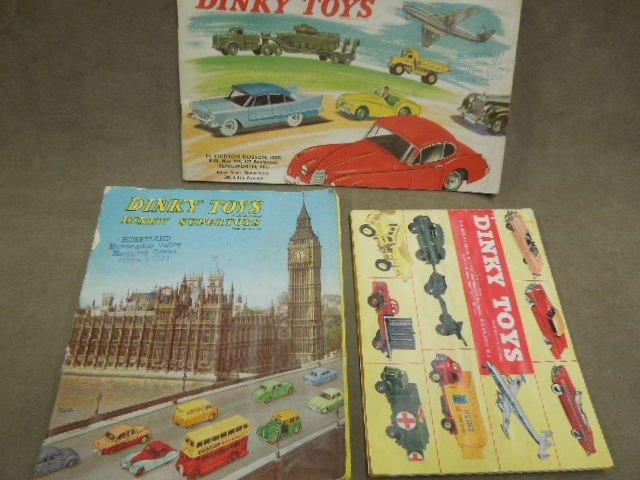 3 Dinky Toy Catalogs