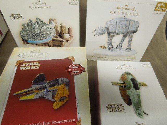 13 Hallmark Star Wars Christmas Ornaments - 2