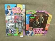 2 Austin Powers Feature Film Figures