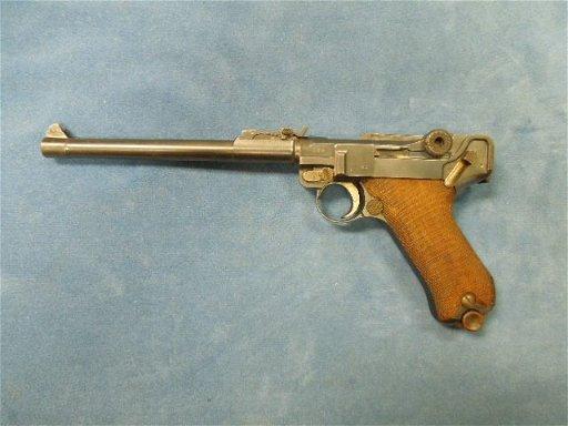 WWI German 1917 DWM Naval Luger  9mm Pistol