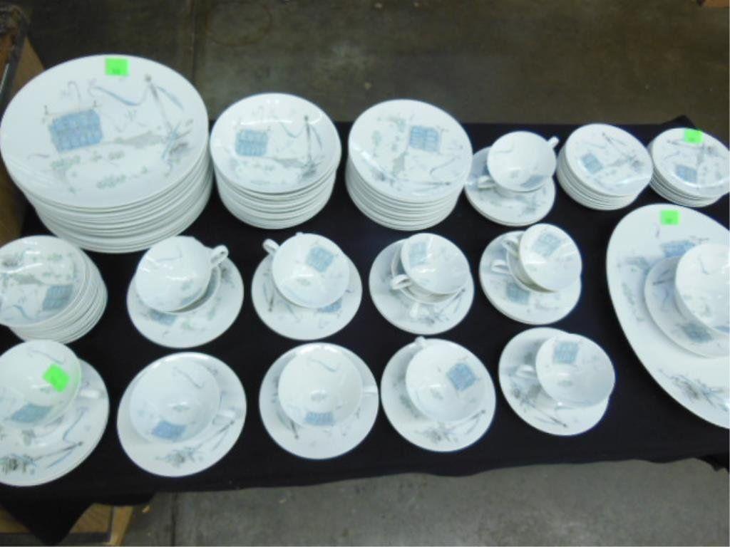 """Rosenthal """"Plaza"""" Pattern China Service"""