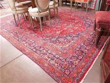 SemiAntique Sarouk Roomsize carpet