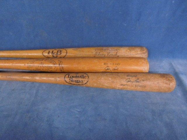 3 Baseball Bats Autograph model