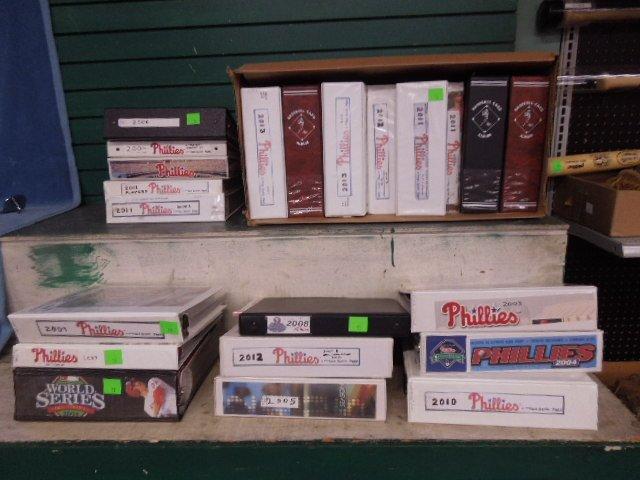 Large Lot Phillies Ephemera