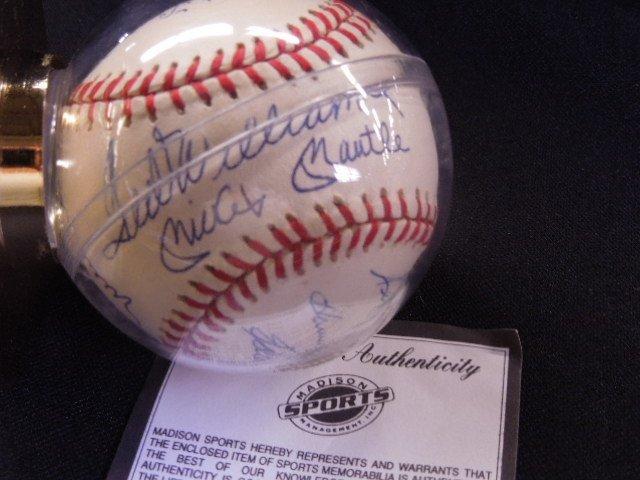 500 home run club signed baseball