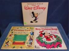 3 Disney Records