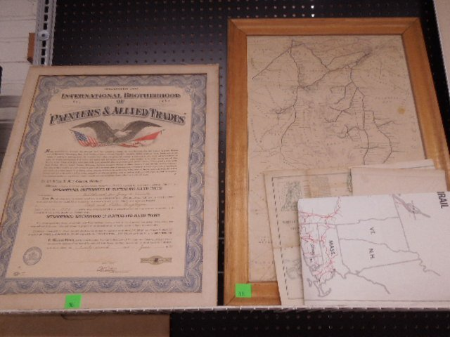 Railroad Maps and Trade Certificate