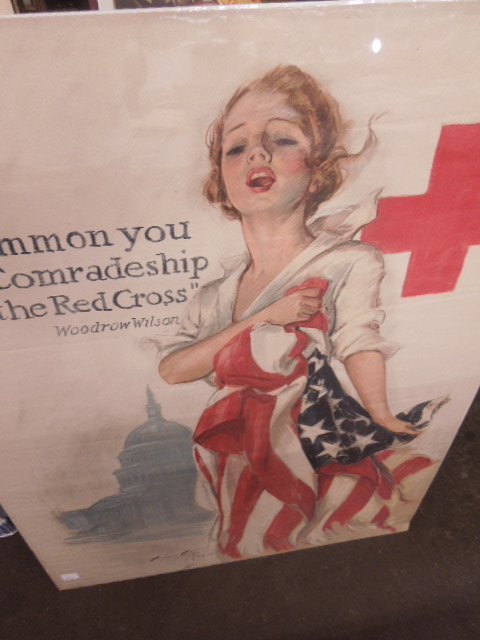 WW I Fisher Red Cross Poster