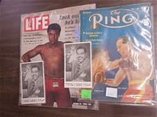 Lot Boxing ephemera