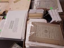 Lot Philatelist mags postal cards  supplies