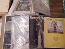 Lot Vintage magazines  other