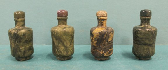 Four Chinese Snuff Bottles