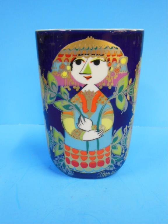 Rosenthal Porcelain 1001 Nights Vase