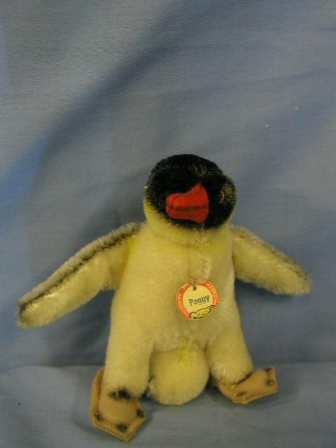 "1005: Steiff animal, penguin ""Peggy"""