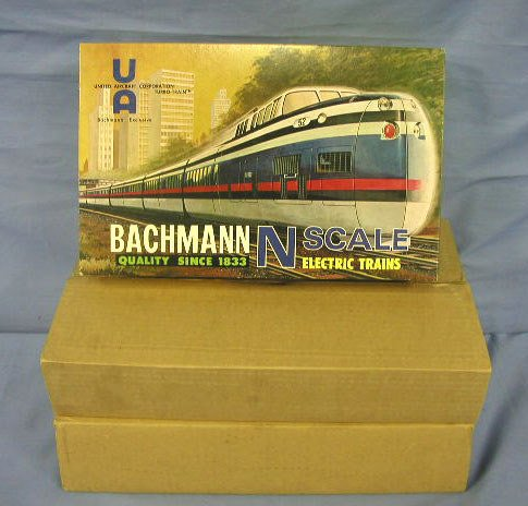 "1049: 60's Bachman ""Turbo Train"" set w/ orig. boxes"