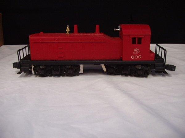 1051: Lionel postwar  -  #1955 Outfit 4 piece train set - 4