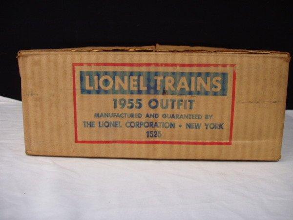 1051: Lionel postwar  -  #1955 Outfit 4 piece train set - 9