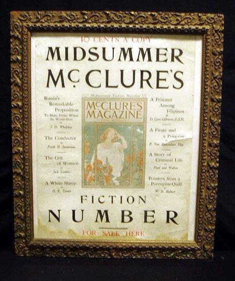 2020: 1900 McClure's Magazine broadside