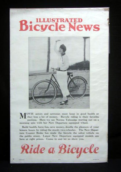 2021: 20's Bicycle News broadside poster