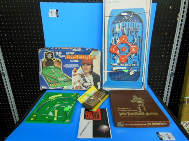 Lot of Vintage Sports games