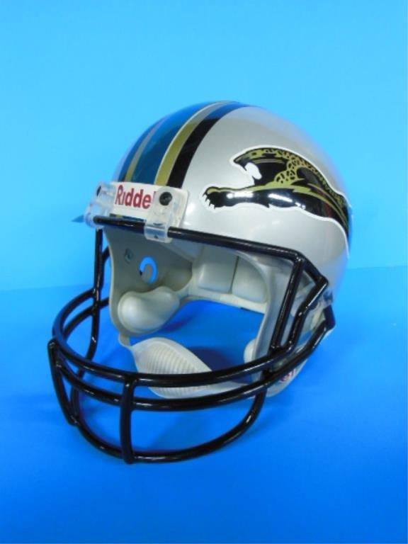 Replica Jaguars Riddell football helmet