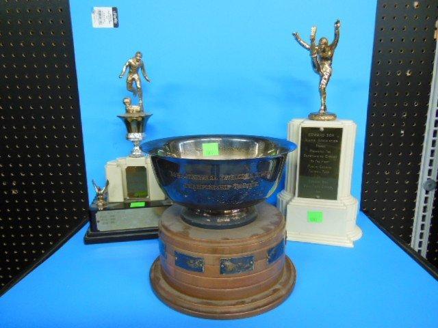 3 Bok Vocational School Sports Trophys