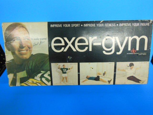 Vintage Bart Starr Exer-gym