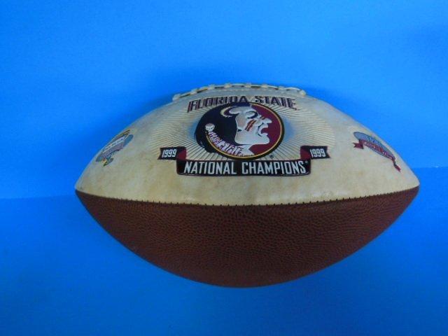 1999 FSU Nation Championship souvenir football