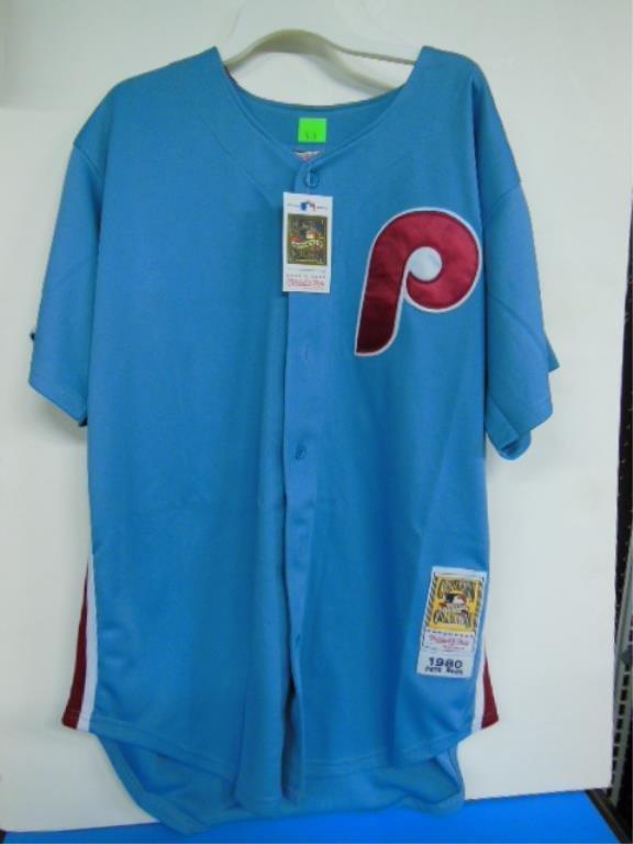Pete Rose Signed Baseball Jersey