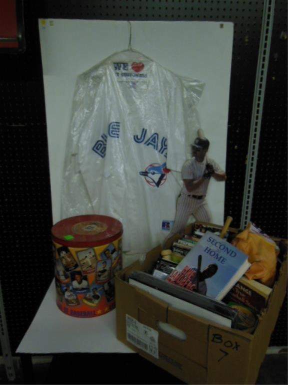 Large lot assorted baseball items
